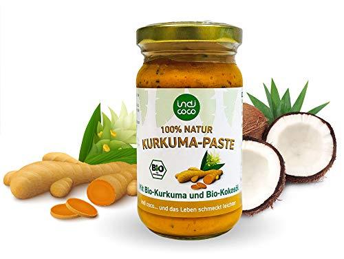 Kurkuma Paste 100% Natur mit Bio Kurkuma und Kokosöl 200g