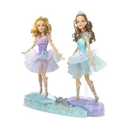 Amazon Com Barbie In The 12 Dancing Princesses Princess Isla And Princess Hadley Toys Games