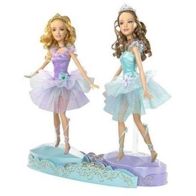 Mattel - Poupée - Les Jumelles Ballerines