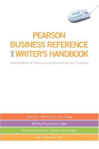 Pearson Business Reference and Writer's Handbook (with...