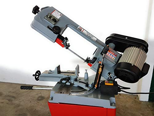 Holzmann–Sierra de cinta de metal descenso semiautomático D.125mm, 230V, 550W–BS 128HDR-230V Holzmann