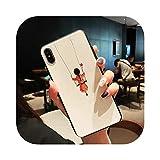 かわいい女の子電話ケースCoque FOR iPhone 7 8 6 6 sプラスケースカバー FOR iPhone 11プロ11Pro XR X XS最大5 s se 5 s SE 2020ケース-19-FOR iPhone 11Pro Max