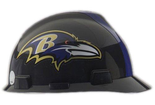 Safety Works NFL Hard Hat, Baltimore Ravens