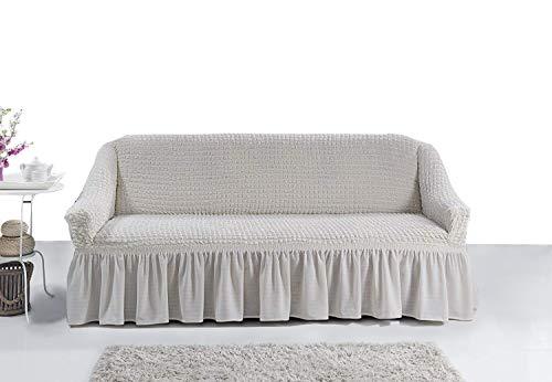 My Palace 3 Sitzer Sofabezug Sofahusse Sofaüberwurf 3 er Couchbezug Sofaschoner 3er Couchschoner. 3-Sitzer Schutzbezug.