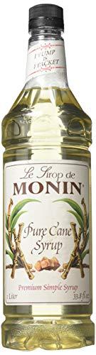 Monin Pure Cane Flavor Syrup 1 Liter