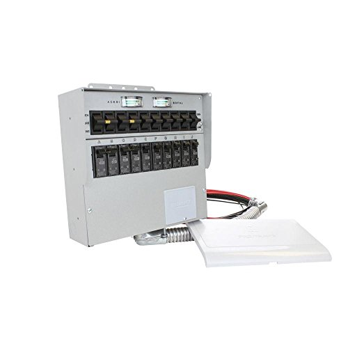 A510C Pro Tran2 50-Amp 10-Circuit 2 Manual Transfer Switch