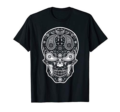 Mexican Skull - T-Shirt day of the dead shirt cinco de mayo