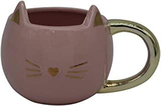 Avenue 9 Cat Head Mug- Pink