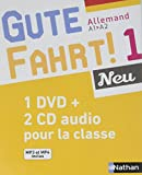 Gute Fahrt 1 Neu Coffret CD + DVD classe 2016