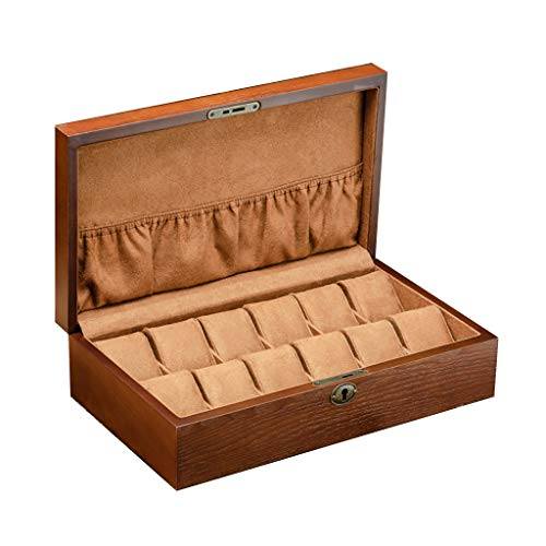 Cajas para Relojes de Madera con 12 Compartimentos Estuche para Relojes y...