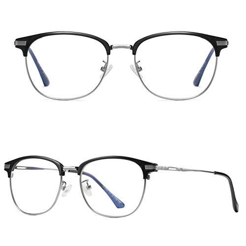 Watermelon Gafas de Bloqueo de luz Azul, Gafas de Ordenador para Mujeres y Hombres, Gafas de Filtro Azul para Reducir la Fatiga Ocular, Anti Fatiga Visual y Reflejos UV para Juegos y Lectura