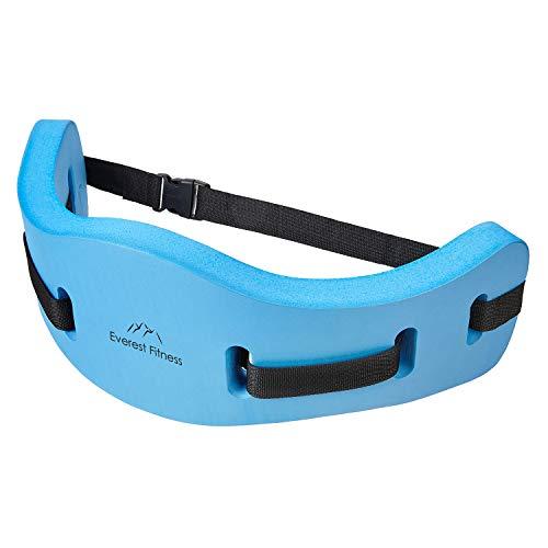 EVEREST FITNESS Aqua-Jogging-Gürtel für Wassersport und Schwimm-Training, sichere Schwimm-Hilfe bis 100 kg Körpergewicht, universell verstellbar