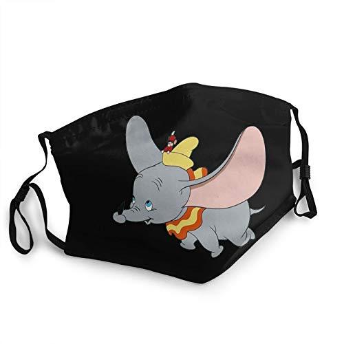 Elephant Animal Dumbo Winddichte Gesichtsbedeckung Sturmhaube Waschbares Tuch Für Manner Frauen