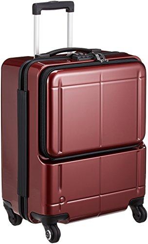 [プロテカ] スーツケース 日本製 マックスパスH2s 3年保証 サイレントキャスター 限定鏡面仕上げ 保証付 40L 46 cm 3.3kg コロナレッド