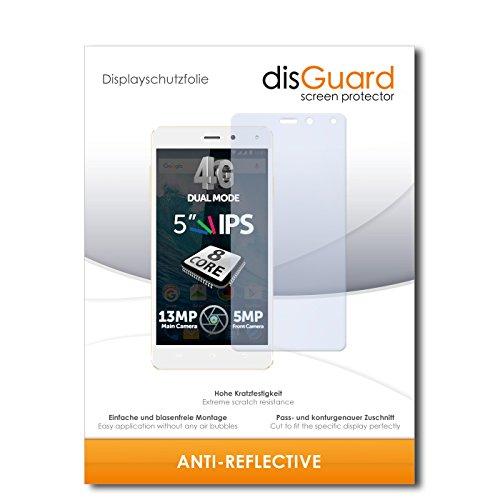 disGuard® Bildschirmschutzfolie [Anti-Reflex] kompatibel mit Allview E4 [4 Stück] Entspiegelnd, Matt, Antireflektierend, Extrem Kratzfest, Anti-Fingerabdruck - Panzerglas Folie, Schutzfolie