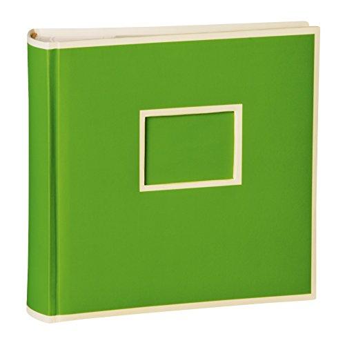 Semikolon (351140) 200 Pocket Album lime (hell-grün) - Fotoalbum/Fotobuch mit Einschubtaschen für 200 Bilder im Format 10x15 cm - 2 Bilder pro Seite