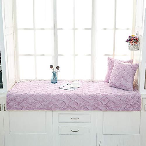 RYWM Pluszowa poduszka Erker nadaje się do prania w pralce, nowoczesna, prosta mata dekoracyjna do drzwi balkonowych Tatami Boden-A 70 x 210 cm