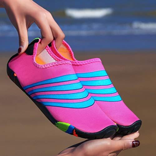 LYNNDRE Outdoor Beach Schoenen, Mannen En Vrouwen Zwemmen Wading Upstream Snorkeling Schoeisel, Op blote voeten Zachte Schoenen Antislip Fitness Loopband Yoga