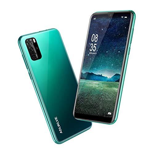 Smartphone Offerta Del Giorno 4G, 6.3pollici 3GB RAM |32GB ROM Android 9.0 Cellulari e Smartphone 8+5MP Telefono Cellulare con Wifi Dual SIM Quad Core 4600mAh Telefoni Mobile (verde)