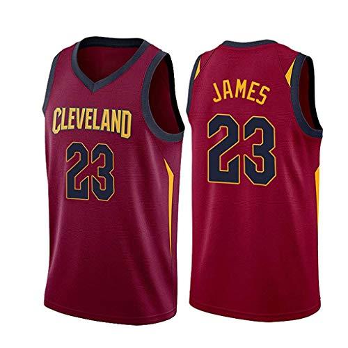 ZRHZB Cavaliers #23 James Jerseys De Baloncesto para Hombre Uniforme De Baloncesto Camiseta De Chaleco Clásico De Tela Transpirable Fresca,M