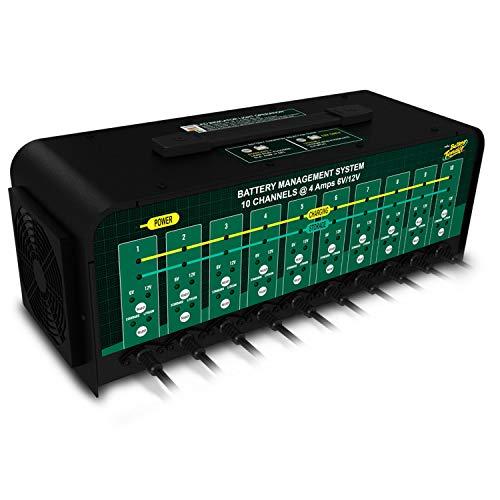Battery Tender 10-Bank Charger: Selectable 6V / 12V Battery Charger Automotive