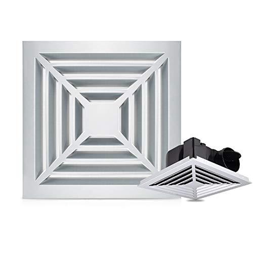 BCXGS Ultradunne afzuigventilator en badventilator, plafondventilator met kopermotor, laag energieverbruik, geluidsarme werking en efficiënte ventilatie.