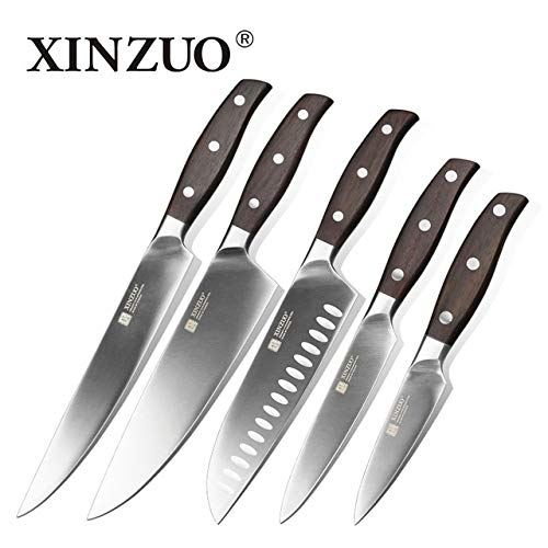 Best Quality Brand 3.5inch 5 inch 7inch 8 inch 8 inch Paring Utility Cleaver Chef Knives German Stainless Steel Kitchen Knife Sets