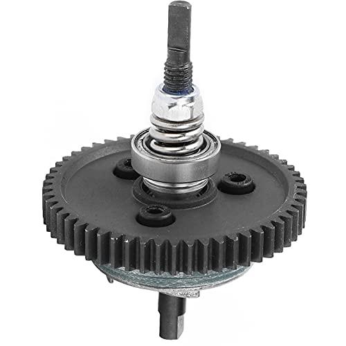 Gears Friction Devices Embrague deslizante, aleación de aluminio 54T + engranaje de reducción de acero 1:10 RC Engranajes de reducción de engranajes rectos Factor de seguridad alto para