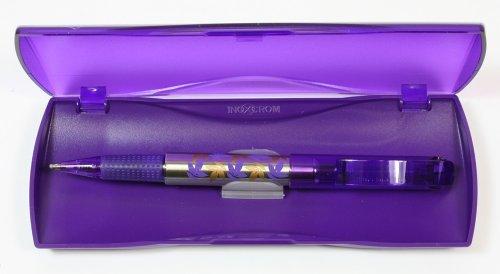 Gel Inoxcrom bolígrafos Vivaldi cuatro estaciones colores. Otoño violeta. En caja de regalo. Tinta azul