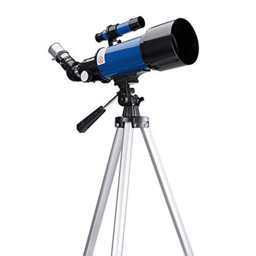 Außensternen Teleskop, 70mm Öffnung 400mm AZ Berg Astronomische Refraktor Fernrohr, Reise for Kinder Teleskop, Teleskope for Erwachsene Astronomie Anfänger Mit Tragetasche Und Stativ