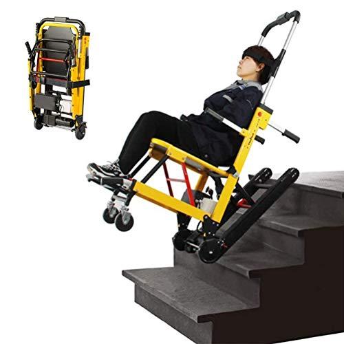 Dbtxwd Zusammenklappbarer Kompakter Elektrischer Rollstuhl Leichter Trolley Zusätzliche Selbstfahrende Rollstühle Mobiler Treppensteiger Verstellbare Gehhilfen