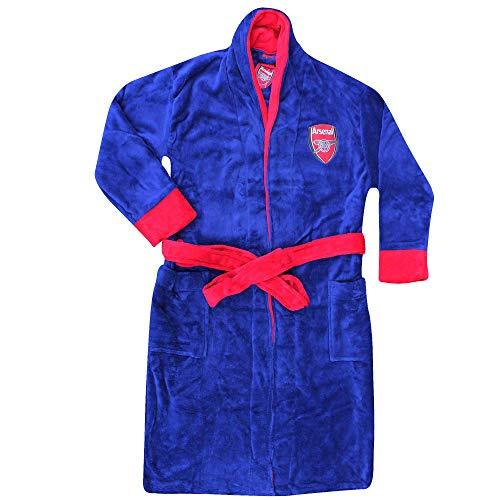 Arsenal FC Bademantel für Erwachsene, Unisex, Größe S bis XL