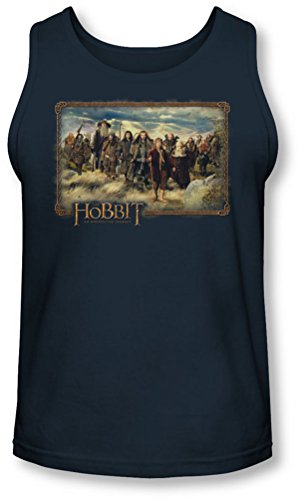 The Hobbit - - Hobbit & Company Tank-Top pour hommes, X-Large, Navy