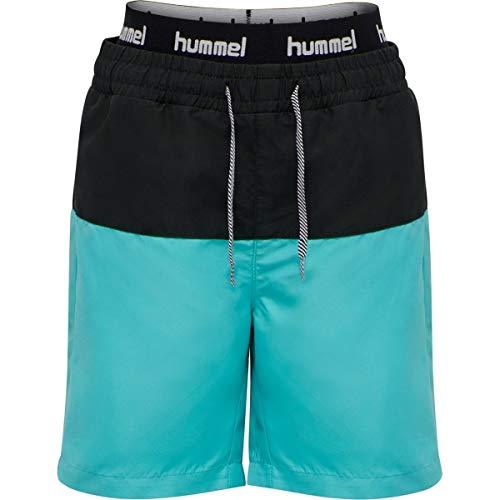 Hummel - hmlGARNER, Kinder Badeshorts Farbe: Scuba Blue (140)