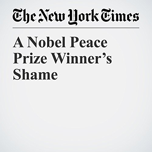 A Nobel Peace Prize Winner's Shame copertina