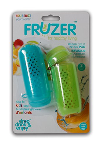 FRUZER Disposable Fruit Infuser Bags Adds Flavor for Infusing Water Low Calorie, Flushes Toxins, Improves Digestion Fits ALL Reusable and Disposable Bottles Zip Seal Pack of 50 -  Vital Innovations Inc., 39005