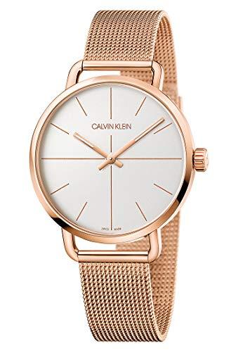 Calvin Klein 87634591 - Reloj analógico de cuarzo para hombre, talla única, acero inoxidable
