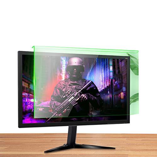Anti Bländningsskärmsskydd för Dataskärm UV och Blå Ljusreduktion Hängande Installation(Size:19.5in/44.5x26cm)