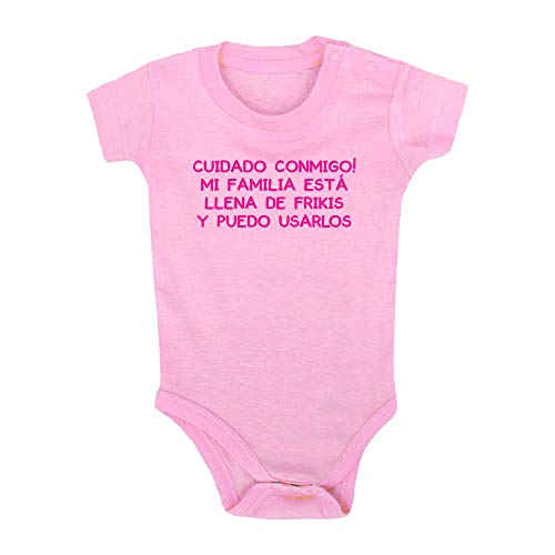ClickInk Body bebé Familia de frikis....