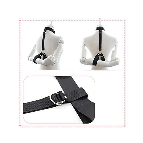 EDYellow Collare per Collo a Tracolla Regolabile con Cinturino per Tappetino Yoga, Tracolla per Il Trasporto Durevole