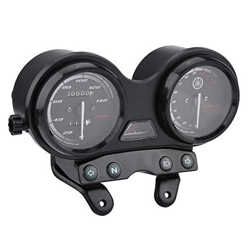 Velocímetro De Motocicleta, Velocímetro Impermeable De 12000 RPM, Carcasa De Plástico Robusto Para YBR 125