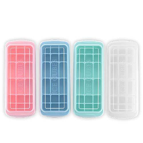 XXFF Stampo in silicone per ghiaccio con coperchio per sushi, 10026827 mm, casuale (2 pezzi)
