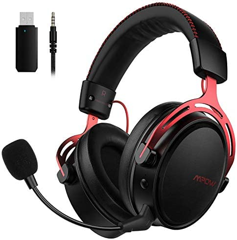 Mpow Air 2 4G Wireless Gaming Headset for PS5 PS4 PC Computer Headset with Dual Chamber Driver product image
