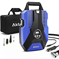 Akface Compresor de Aire Coche,Inflador Coches Portatil,Inflador Neumaticos H...