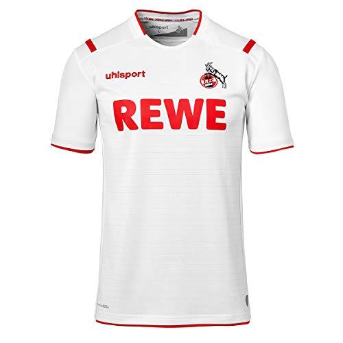 uhlsport Herren Fc Köln 19/20 Ka Home Trikot, weiß, L