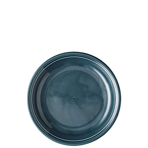 Thomas Trend Colours/Farben - Suppenteller 22 cm - 2er-Set - Pastateller tiefer Teller Nudelteller (Night Blue (Nacht-Blau), 2 Stück)