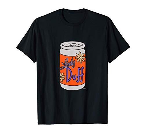 The Simpsons Lady Duff Beer Camiseta