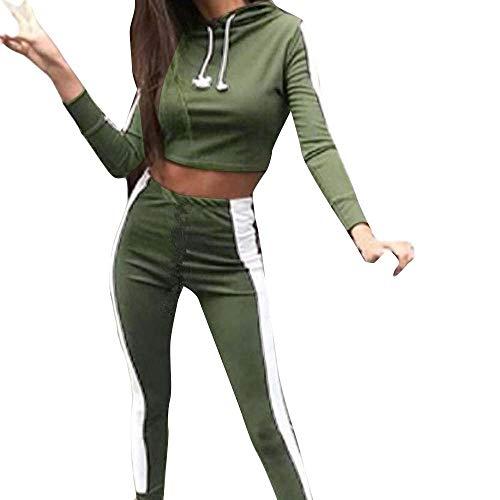 2 Stks Dames Trainingspak Casual Lange Mouwen Tops + Lange Broek Lounge Sportkleding Pak Vrouwen Sport Sets Hardlopen Workout Gym Sweatshirt Pullover Jumper Outfit