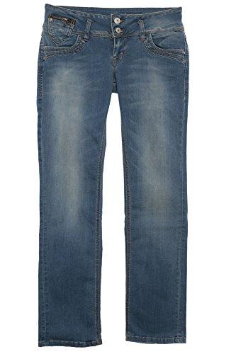 LTB Damen Jeans Jonquil - Slim Straight - Blau - Calissa Wash, Größe:W 31 L 32;Farbe:Calissa Wash (4408)