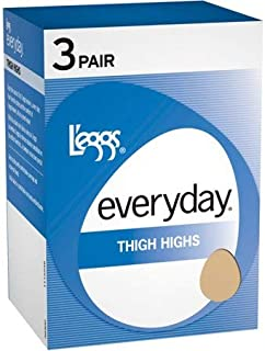 L`eggs Everyday Women`s Thigh High ST - Best-Seller!